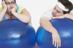 Tired and overweight-man-and-woman-48015482