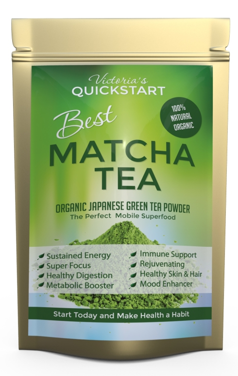 Vibrant Organic Matcha Green Tea Powder