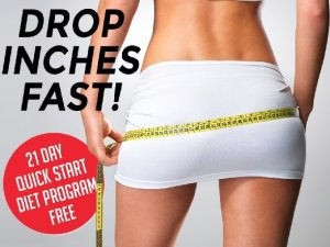 how to lose inches off your hips fast
