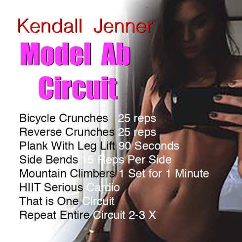 kendall jener ab workout skinny tea for weight loss fit tea