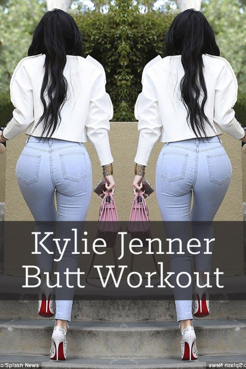 Kylie Jenner butt workout