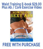 Free Waist Training E-book Guide with Purchase
