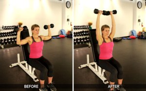 how to get a hourglass figure fast