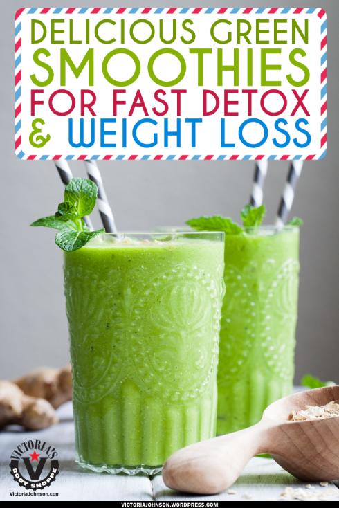DeliciousGreenSmoothiesForFastDetox_WeightLoss2